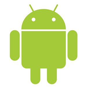 logo android robot verde